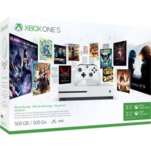 Click here for Microsoft Xbox One S 500GB Console - Starter Bundl... prices