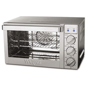Waring Pro CO1000 .9 cu. Ft. 1700 watt Convection Oven Stainless Steel Silver