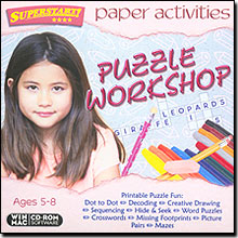 Image of Paper Activities: Puzzle Workshop for Windows and Mac
