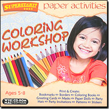 Paper Activities: Coloring Workshop