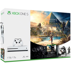 Click here for Xbox One S 1TB Console - Assassins Creed Origins B... prices