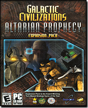 Galactic Civilizations: Altarian Prophecy Expansion Pack
