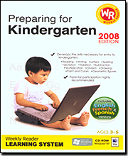 Preparing for Kindergarten '08 Learning System