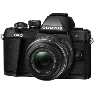 Olympus OM-D E-M10 Mark II Mirrorless Digital Camera with 14-42mm EZ Lens