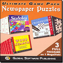 Ultimate Game Pack: Newspaper Puzzles