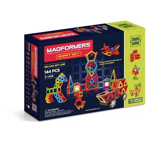 Magformers Smart 144-Piece Magnetic Construction Set