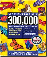 Art Explosion 300,000+ Images Premium DVD-ROM  Edition
