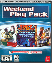 Weekend Play Pack for PC - Classic Games Collection