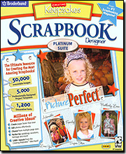 Creating Keepsakes Scrapbook Designer Platinum Suite