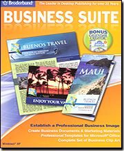 Broderbund Business Suite (w/Calendar Creator Ultimate Organizer)