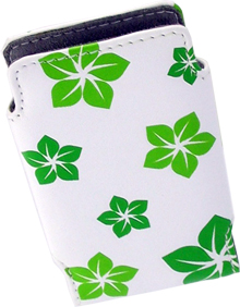 APPLE TC462LL/A InCase Pouch for iPod Mini (Green Flower)
