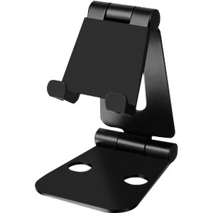 Aluratek Portable Universal Dual Foldable Cell Phone Stand