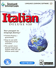 Instant Immersion Italian Deluxe 3.0