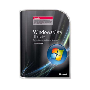 Microsoft Windows Vista Ultimate Upgrade with SP1