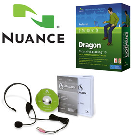 Dragon NaturallySpeaking 10.1 Preferred with Headset - complete package