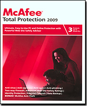 McAfee Total Protection 2009 - 3 User Pack