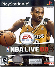 NBA Live 08 (PlayStation 2)