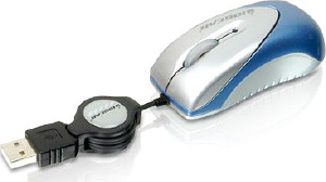 IOGEAR Memory Optical Mini Mouse 800dpi with  Flash Memory (GME224M32)