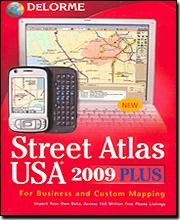 Delorme Street Atlas USA '09 Plus