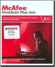 McAfee VirusScan Plus 2009 - 3 User with McAfee Anti-Theft