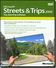 Microsoft Streets & Trips 2009