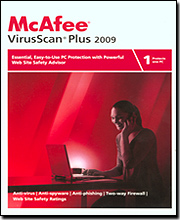 McAfee VirusScan Plus 2009