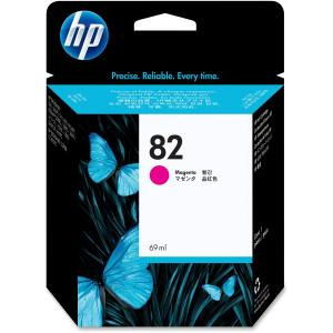HP 82 69-ml Magenta Ink Cartridge (C4912A) - Magenta - Inkjet - 1430 Page