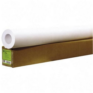 HP Coated Paper - A1 - 24&quot; x 100 ft - 35.00 lb - Matte - 90% Brightness - 1 Roll - White