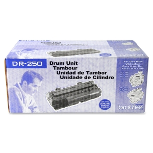 Brother DR250 Drum Cartridge - Laser Imaging Drum - Black - 12000 Page - 1 Pack