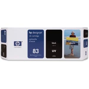 HP 83 Black Ink Cartridge - Black - Inkjet - 1 Each - Retail