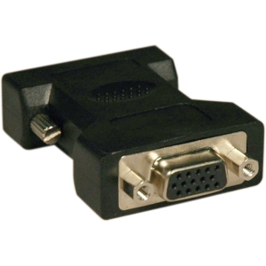 Tripp Lite DVI to VGA Analog Adapter - 1 x HD-15 Female - 1 x DVI Male Video