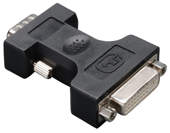 Tripp Lite DVI to VGA Analog Adapter - 1 x HD-15 Male - 1 x DVI Female Video