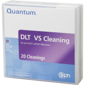 Quantum BHXHC02 DLT Cleaning Cartridge - DLT - 1 Pack