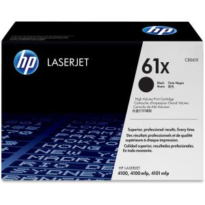 HP 61X Black LaserJet Toner Cartridge (C8061X) - Black - Laser - 10000 Page - 1 - Retail