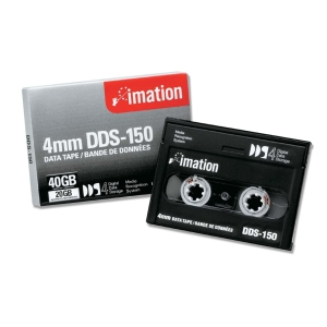 Imation 40963 DDS-4 Data Cartridge - DAT - DDS-4 - 20 GB (Native) / 40 GB (Compressed) - 1 Pack