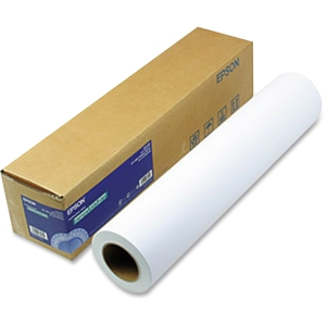 "Epson Photo Paper - 24"" x 100 ft - 192 g/m² - Matte - 104% Brightness - 1 / Roll - White"