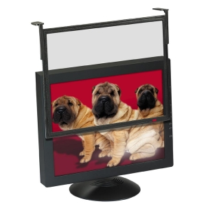 "3M EF200XLB Black Framed Anti-Glare Filter - 17"" to 18"" CRT, 17"" to 18"" LCD"