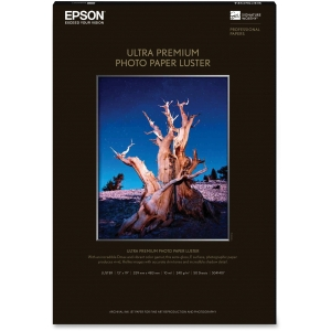 "Epson Photo Paper - Super B - 13"" x 19"" - 240 g/m² - Luster - 97% Brightness - 50 Sheet"