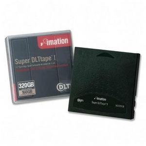 Imation 16260 Super DLT Data Cartridge - Super DLT - 160 GB (Native) / 320 GB (Compressed) - 1 Pack
