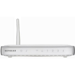 Netgear - WGR614 Cable/DSL Wireless Router - 1 x WAN, 4 x LAN