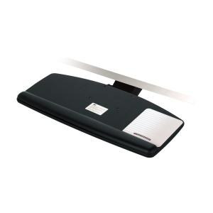 "3M Knob Adjust Keyboard Tray - 25.5"" Width x 12"" Depth - Black"
