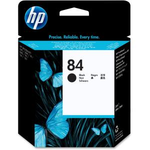 HP 84 Black Printhead Cartridge - Black - Inkjet - 1 Each - Retail