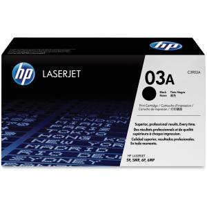 HP 03A Black Toner Cartridge - Black - Laser - 4000 Page - 1 Each - Retail