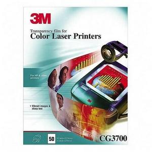 3M Laser Transparency Film - Letter - Transparent
