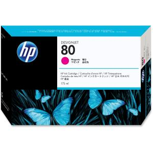 HP 80 Magenta Ink Cartridge - Magenta - Inkjet - 2200 Page - 1 Each - Retail