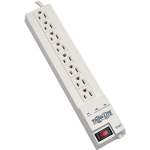 Tripp Lite 8 Outlet 120V Surge Suppressor - Receptacles: 8 x NEMA 5-15R - 1080J