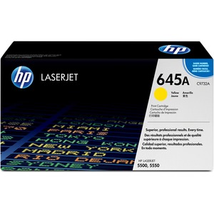HP 645A Yellow Toner Cartridge - Yellow - Laser - 12000 Page - 1 Each