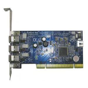 Unibrain Fireboard-Blue 3-port 1394a Firewire Adapter - 3 x 6-pin IEEE 1394a FireWire - Plug-in Card