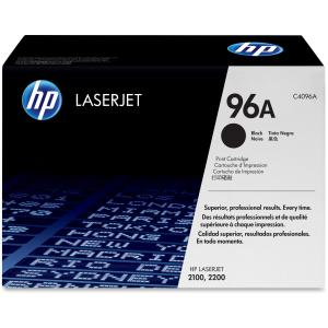 HP 96A Black Toner Cartridge - Black - Laser - 5000 Page - 1 Each - Retail