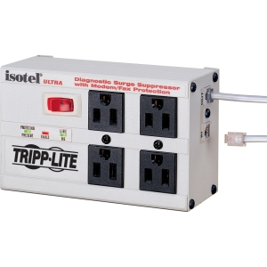 Tripp Lite ISOTEL4ULTRA - Receptacles: 4 x NEMA 5-15R - 3330J